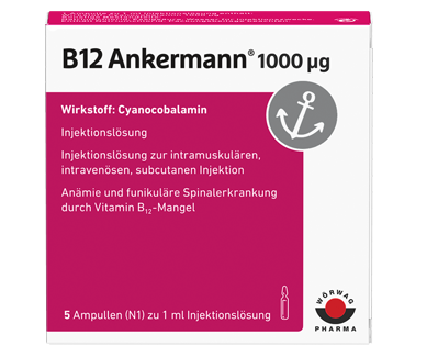 Vitamin B12-Spritze: B12 Ankermann® Injekt